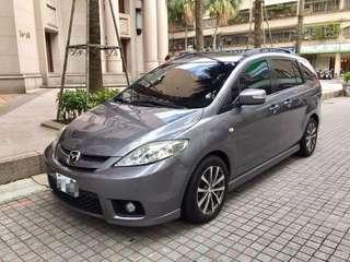 自備3500起可全貸可找錢Mazda5 頂級電動滑門