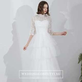 Two Piece Wedding Dress Gown