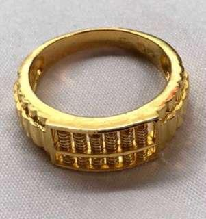 New Year 2019 - - (916 Abacus, 916 Gold Ring) 🇸🇬🇸🇬🇸🇬