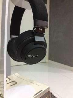 Authentic Soul Impact Wireless Headphone - Black