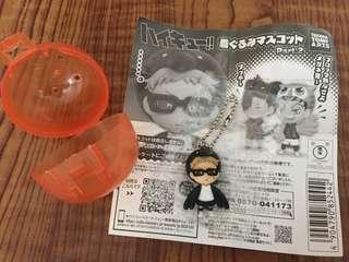 [包平郵📬] 排球少年 鎖鑰扣 ハイキュー Haikyu 日本動畫 扭蛋 月島螢 Tsukishima Kei Keychain