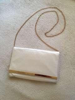 Colette white clutch