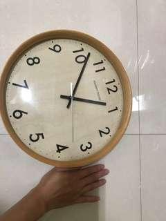 木質時鐘 圓形