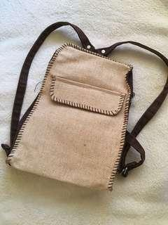 Natural comfort small backpack