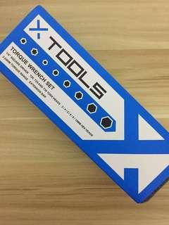 X-Tools Essential Torque Wrench Set