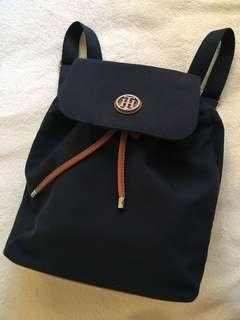 Tommy Hilfiger blue backpack