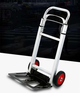 Family shopping cart, folding cart