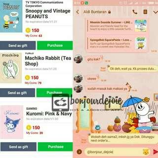 Theme Line For Android