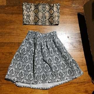 裙子 復古風