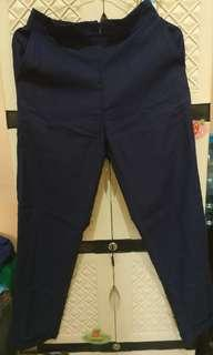 Navy Long Pants