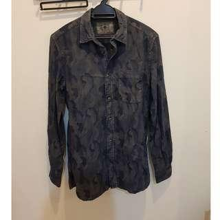 CNY DEALS ZARA BUTTON UP SHIRT SIZE S