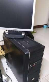 售電腦含螢幕鍵盤滑鼠