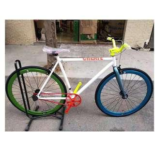 💯🆕(CNY Promotion) CREATE Colorful Fixies with brakes