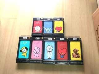 <INSTOCK> BT21 Powerbank/Portable Charger (BTS Love Yourself Concert SG)