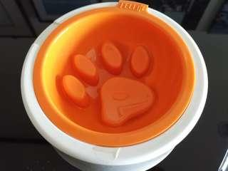 Anti Gulp Dog Food Bowl