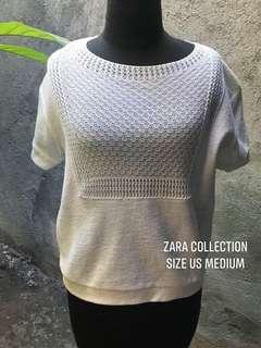 Zara Collection White Top