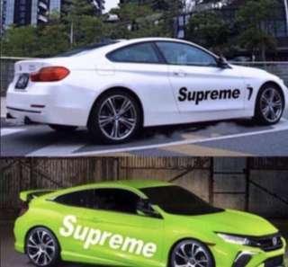 <Sales> Supreme Decal