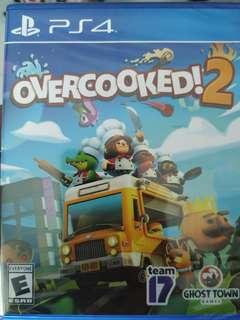 PS4 Overcooked 2 Coop game couch