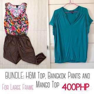 BUNDLE: H&M, Mango And Bangkok Bottoms