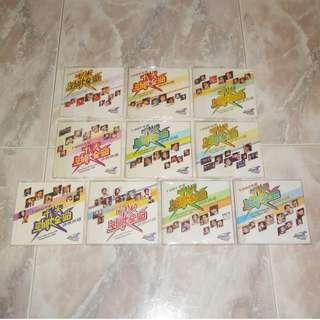 Hong Kong TVB Jade Sold Gold 1983-1992 VCD Complete Set 十大勁歌金曲頒獎典禮 Anita Mui Alan Tam Leslie Cheung Danny Chan Andy Lau Beyond TVBI DVD CD