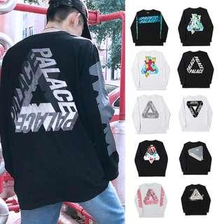Multi Color/Design Palace Triangle Pullover Long Sleeves