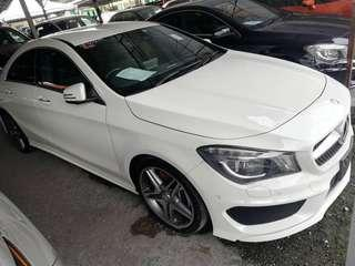 MERCEDES BENZ CLA250 AMG SPORT ADVANCE PACKAGE ✅Unregistered 2015