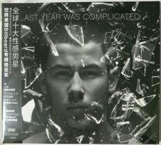 [Music Empire] Nick Jonas - Last Year Was Complicated CD Album