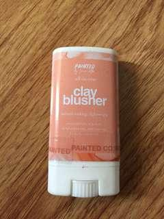 Painted clay blush