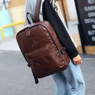 Leather Backpack Import Quality
