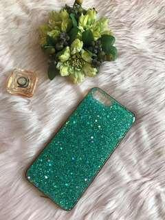 Glitters Green Case for Iphone 7 Plus