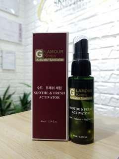 💖限時優惠💖半價發售Korea Glamour Soothe & Fresh Activator(40ml)