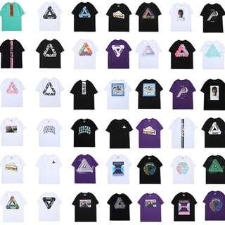 Multi Color/Design Palace Triangle Pullover Tee Shirt '19