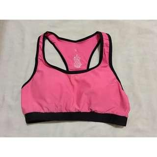 Pink Athletic Style Swimsuit (Top Only)