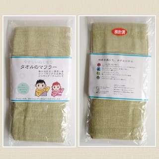 日本全棉頸巾