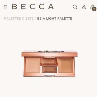 Becca Be A Light Pallet in Light to Medium #PRECNY60