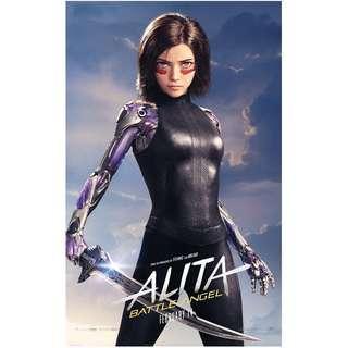 Alita movie poster