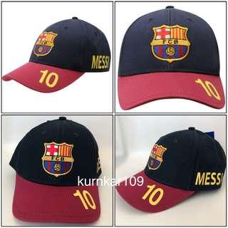 全新正貨 FC Barcelona Cap (No.10 Messi) _(歐洲購入)
