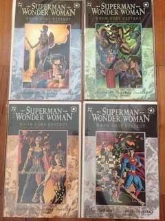 DC Superman Wonder Woman Whom Gods Destroy #1-4