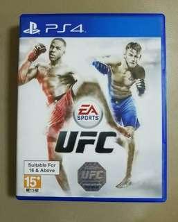 PS4 UFC 英文