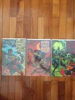 DC Legends of the World's Finest #1-3