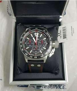 Original TW Steel CE1015 Black Dial Mens Chronograph Watch