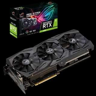 ASUS ROG-STRIX-RTX2060-O6G 6GB GDDR6 GRAPHIC CARD
