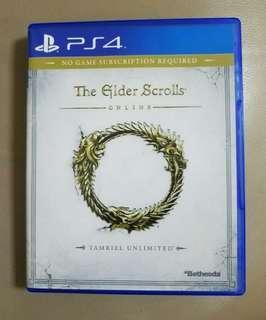 PS4 The Elder Scrolls 英文