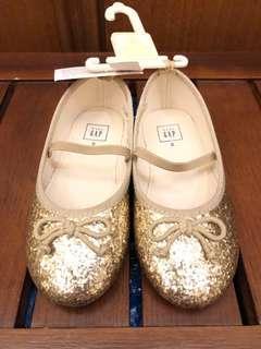 Baby GAP shiny sparkling shoes - umur 3tahunan