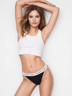 🚚 Victoria's Secret 維多利亞的秘密 黑色內褲✨