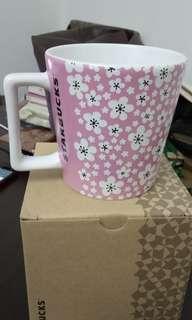 Pink limited starbucks mug