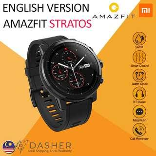 [FREE GIFTS] AMAZFIT STRATOS XIAOMI HUAMI MULTISPORT GPS SMART WATCH