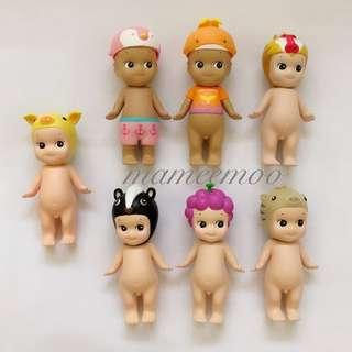 Sonny Angel Yellow Pig  Animal Special Colour Series 2 Bundle Summer 2018 baboon skunk grapes uribou Angels angle