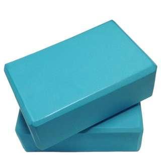 Yoga Block Blue 瑜珈磚 x2