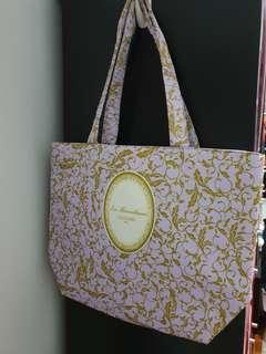 Laduree Lilac Shopping Bag